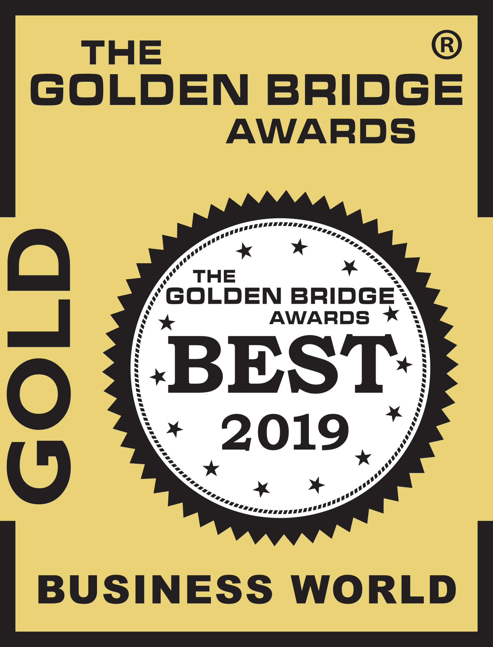 golden bridge awards gold