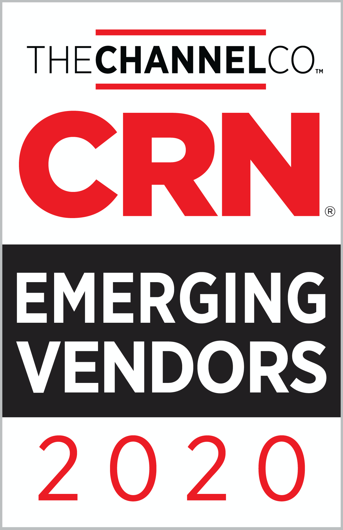 CRN Emerging Vendors Awards