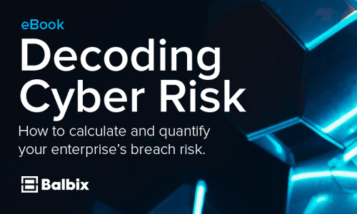 How to Calculate your Enterprise's Breach Risk
