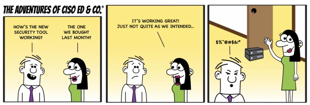 CISO Ed Comic